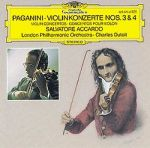 帕格尼尼:第三、四號小提琴協奏曲 (CD)<br>阿卡多,小提琴 / 杜特華指揮倫敦愛樂交響樂團<br>Paganini:Violin Concerto No.3 & 4 / Accardo
