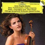 貝爾格:小提琴協奏曲&黎姆:《時間之歌》(CD)<br>穆特,小提琴 / 李汶指揮芝加哥交響樂團<br>Berg: Violin Concerto; Rihm: