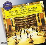 史特勞斯的家族聚會:圓舞曲、波卡舞曲、進行曲 (CD)<br>卡拉揚指揮柏林愛樂管弦樂團<br>Johann & Josef Strauss: Waltzes, Polkas, Marches / Berliner Philharmoniker, Herbert von Karajan