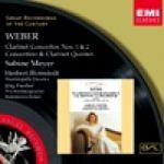 【絕版名片】韋伯:單簧管協奏曲與五重奏、小協奏曲(世紀原音117)<br>WEBER : KLARINETTENKONZERTE<br>MEYER