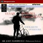 艾爾加:謎語變奏曲 (180 克 LP)<br>巴畢羅里 指揮 愛樂管弦樂團<br>Elgar: Enigma Variations<br>Elgar: Cockaigne Overture<br>Philharmonia Orchestra<br>Sir John Barbirolli