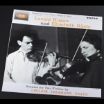 柯岡 & 吉列爾斯-雙小提琴奏鳴曲集 ( 180 克 LP )<br>Kogan & Gilels - Sonatas for Two Violins