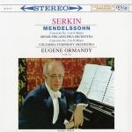 孟德爾頌:鋼琴協奏曲 1&2 號 ( 180 克 LP )<br>鋼琴:魯道夫.賽爾金/尤金.奧曼迪 指揮 芝加哥交響管弦樂團<br>Mendelssohn: Piano Concertos Nos. 1 & 2<br>Rudolf Serkin and the Columbia Symphony Orchestra conducted by Eugene Ormandy