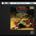 【FIM 絕版名片】比才:卡門組曲 ∕ 葛利格:皮爾金組曲 ( Ultra HD )<br>史拉特金 指揮 聖路易交響管弦樂團<br>Bizet:Carmen Suite. Grieg:Peer Gynt Suite<br>Leonard Slatkin  Saint Louis Symphony Orchestra