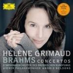 海倫‧葛莉茉-布拉姆斯:鋼琴協奏曲第一號、第二號 ( 180 克 2LPs )<br>Helene Grimaud - Brahms: Piano Concertos Nos. 1 & 2