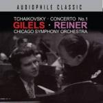 柴可夫斯基第一號鋼琴協奏曲/吉利爾斯 (CD)<br>萊納 指揮 芝加哥交響管弦樂團<br>GILELS / REINER:Tchaikovsky Concerto No. 1<br>Chicago Symphony Orchestra