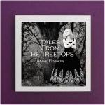 Art Vinyl 創意黑膠掛框【亮白】+ 安‧碧森─樹尖的童話( 180 克 LP )