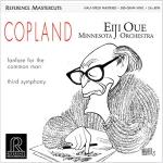 柯普蘭 / Copland (200 克 LP)<br>大植英次 指揮 明尼蘇達管弦樂團 / Minnesota Orchestra / Eiji Oue<br>(線上試聽)<br>RM1511