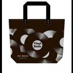 2017 咖啡色 Joy Audio 唱片背袋 -- 黑圈款