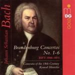 巴哈:布蘭登堡協奏曲全集 ( 2CDs )<br>Bach, J S: Brandenburg Concertos Nos. 1-6 BWV1046-1051 (complete)<br>Camerata of the 18th Century, Konrad Hünteler