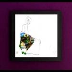 Art Vinyl 創意黑膠掛框【純黑】+ 瓊妮.蜜雪兒 : 幽谷少女 ( 180 克 LP )<br>Joni Mitchell: The Ladies of the Canyon