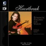 【線上試聽】「心碎」浪漫小提琴之聲 ( 180 克 2LPs )<br>伊莉莎.李.柯莉恩琳/小提琴,羅勃.科寧 / 鋼琴<br>「Heartbreak」Romantic Encores For Violin<br>Elissa Lee Koljonen: Violin<br>Robert Koenig: Piano