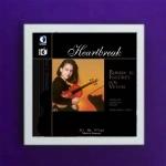 Art Vinyl 創意黑膠掛框【亮白】+「心碎」浪漫小提琴之聲 ( 180 克 2LPs )<br>伊莉莎.李.柯莉恩琳/小提琴,羅勃.科寧 / 鋼琴<br>「Heartbreak」Romantic Encores For Violin<br>Elissa Lee Koljonen: Violin<br>Robert Koenig: Piano