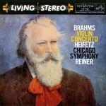 布拉姆斯:小提琴協奏曲 ( 雙層 SACD )<br>海飛茲小提琴、萊納 指揮 芝加哥交響樂團<br>Brahms / Violin Concerto<br>Reiner / Chicago Symphony Orchestra, Heifetz (Violin)
