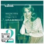 【線上試聽】博貝絲庫-貝多芬:小提琴協奏曲、浪漫曲 ( 德國 CD 版 )<br>加德.唐尼伊斯 指揮 比利時廣播新交響樂團<br>Lola Bobesco - Beethoven: Concerto for Violin and Orchestra in D ; Romances in G<br>Lola Bobesco (violin)、Edgard Doneux (conductor)、Nouvel Orchestre Symphonique de la RTBF