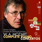 【特價商品】莫札特:鋼琴協奏曲集全集  ( 9CD 套裝 )<br>鋼琴  指揮:克里斯欽.查哈里亞斯<br>W. A. Mozart Complete Piano Concertos