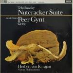 柴可夫斯基-胡桃鉗組曲、葛利格-皮爾金組曲 ( 180 克 LP )<br>卡拉揚 指揮 維也納愛樂<br>Herbert von Karajan - Tchaikovsky: Nutcracker Suite/Grieg: Peer Gynt