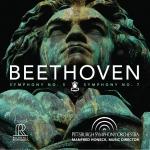 貝多芬:第五號交響曲、第七號交響曲 ( 雙層 SACD )<br>曼弗瑞德.霍內克 指揮 匹茲堡交響管弦樂團<br>BEETHOVEN: SYMPHONY NO. 5 & NO. 7<br>Pittsburgh Symphony Orchestra conducted by Manfred Honeck<br>FR718SACD