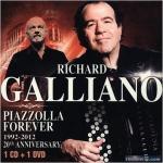 【點數商品】【絕版名片】理查.蓋利安諾七重奏-動人手風琴:永遠的皮耶佐拉  ( CD + DVD ) <br>Richard Galliano Septet - Piazzolla Forever