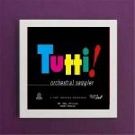 Art Vinyl 創意黑膠掛框【亮白】+ 全體齊奏!( 180 克 2LPs )<br>Tutti! Orchestral Sampler Reference Recordings