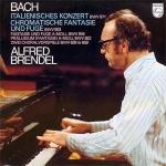 巴哈:義大利協奏曲、半音幻想曲 ( 180 克 LP )<br>鋼琴:布蘭德爾<br>Alfred Brendel Bach Italian Concerto & Chromatic Fantasy