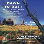 晨昏之間  ( 雙層 SACD )<br>猶他管弦交響樂團音樂總監:蒂埃里.費歇爾 <br>DAWN TO DUST<br>Utah Symphony - Thierry Fischer, Music Director<br>Hybrid SACD 5.1 & Stereo<br>FR719SACD
