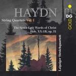海頓:弦樂四重奏第 1 輯 / 萊比錫弦樂四重奏<br>作品51號 基督最後七言 ( 雙層 SACD )<br>Haydn, Joseph: String Quartets Volume 1