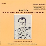 LSC-2456 拉羅-西班牙交響曲 ( 200 克 LP )<br>謝霖 小提琴 / 韓德 指揮 芝加哥交響樂團<br>Lalo: Symphonie Espagnole<br>Violin: Henryk Szeryng