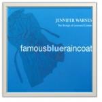 Art Vinyl 創意黑膠掛框【亮白】+ 珍妮佛‧華恩絲:著名的藍雨衣( 180 克 LP )