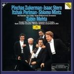 韋瓦第:四季組曲、巴哈:雙協奏曲、莫札特:交響協奏曲(180 克 2LPs)<br>Vivaldi: The Four Seasons, etc  / Stern, Zukerman, Mintz, Perlman, Mehta Conducts Israel Philharmonic Orchestra<br>史坦、祖克曼 / 明茲、帕爾曼<br>祖賓梅塔 指揮 以色列愛樂管弦樂團