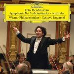 孟德爾頌:第三號交響曲  ( 180 克 LP )<br>指揮家和小提琴 / Gustavo‧杜達美<br>Mendelssohn: Symphony No. 3