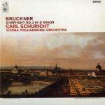 布魯克納:第三號交響曲(180 克 LP)<br>舒李希特 指揮 維也納愛樂管弦樂團<br>Bruckner: Symphony No. 3 in D minor<br>Carl Schuricht / the Vienna Philharmonic Orchestra