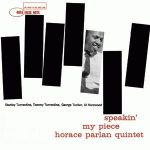 【CR 絕版名片】霍瑞斯.帕蘭:一家之言( 200 克 LP )<br>Horace Parlan: Speakin' My Piece