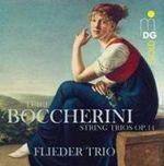 鮑凱里尼: 弦樂三重奏作品第 14 號 <br>佛力德三重奏<br>Luigi Boccherini : String Trio Op. 14<br>Flieder Trio