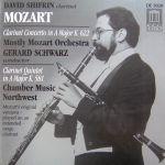 莫札特:豎笛協奏曲、豎笛五重奏 / 席夫林,豎笛 / 舒瓦茲 指揮 莫札特管弦樂團<BR>Mozart: Clarinet Concerto, Quintet / David Shifrin, clarinet / Gerard Schwarz, conductor / Mostly Mozart Orchestra /Chamber Music Northwest