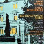 布拉姆斯與舒曼的音樂晚會 / 席夫林-豎笛,卡洛‧羅森貝格-鋼琴<br>Brahms/Schumann: Clarinet Sonatas / David Shifrin, clarinet / Carol Rosenberger, piano