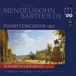 孟德爾頌:鋼琴協奏曲集 / 蕾昂絲卡雅,鋼琴(雙層SACD) <br>Mendelssohn Piano Concertos 1 & 2, Piano Music<BR> ( Hybrid Multichannel SACD )