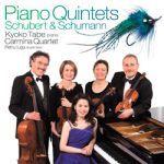 舒伯特:「鱒魚」、舒曼:鋼琴五重奏 <BR>田部京子 / 卡密拉四重奏 (雙層 SACD )<BR>Kyoko Tabe / Carmina Quartet <BR>( Hybrid Multichannel SACD )