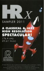 【特價商品】無與倫比的高解析音樂--HRx測試片<br>HRX SAMPLER/A Classical & Jazz High Resolution SPECTACULAR!<br>HR2011