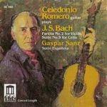 塞雷多尼奧.羅梅洛演奏巴哈 & 嘉斯柏‧桑茲<br>Celedonio Romero plays J.S. Bach & Gaspar Sanz