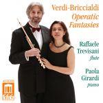 威爾第&布力奇艾爾第-歌劇幻想曲<br>拉斐爾‧特雷維薩尼-長笛、寶拉‧傑拉蒂-鋼琴<br>Verdi-Briccialdi - Opera Fantasies<br>Raffaele Trevisani (flute); Paola Girardi (piano)