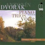 「淒弦感懷」德弗札克 - 鋼琴三重奏第二輯:第二號、第四號鋼琴三重奏「悲歌」( 線上試聽 )<br>維也納鋼琴三重奏 : 小提琴 - 沃夫崗.瑞迪克;大提琴<br>馬塞亞斯.格瑞德勒;鋼琴 - 史蒂芬.曼德<br>Dvorak - Piano Trios Volume 2<br>Vienna Piano Trio<br>Wolfgang R