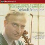 孟德爾頌、布魯赫:小提琴協奏曲 (180 克 LP )<br>曼紐因/小提琴、徐四金、克爾茲 指揮 愛樂管弦樂團 <br>Yehudi Menuhin - Mendelssohn & Bruch: Violin Concertos