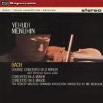 巴哈:小提琴協奏曲、雙小提琴協奏曲( 180 克 LP )<br>曼紐因/小提琴、指揮節慶室內管弦樂團,費拉斯/小提琴<br>Yehudi Menuhin - Bach: Concertos