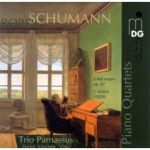 舒曼「鋼琴四重奏」/  帕纳索斯三重奏 (雙層SACD) <br> Schumann Piano Quartets<BR> ( Hybrid Multichannel SACD )