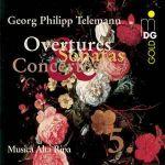 泰勒曼:協奏曲與室內樂第五集 / 阿塔里帕樂集<br>Telemann:Overtures Sonatas and Concertos Vol. 5/Musica Alta Ripa