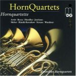 Horn Quartets 法國號四重奏曲集 ( CD )
