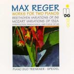 雷格:雙鋼琴作品全集<br>特萊恩克納 ─ 施派德爾鋼琴二重奏<br>Max Reger: Complete Music for two pianofortes<br>Piano Duo Trenkner-Speidel