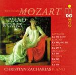莫札特:鋼琴小品集 / 查哈里亞斯,鋼琴<br>Wolfgang Amadeus Mozart:Piano Works/ Zacharias,Piano