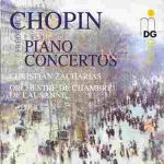 蕭邦:第一、二號鋼琴協奏曲集<br>Chopin: Piano concertos no. 1 & 2<br>Christian Zacharias, piano / Orchestre de Chambre de Lausanne